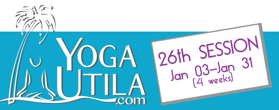 Schedule Yoga Utila January